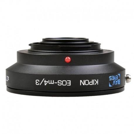 Objektīvi un aksesuāri - Kipon adapter EF lens to MFT camera manual with Speedbooster