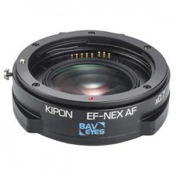 Kipon adapter 0,7x EF lens to Sony E-mount camera with AF Speedbooster Noma