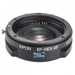 Kipon adapter 0,7x EF lens to Sony E-mount camera with AF Speedbooster Rent