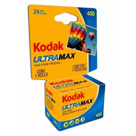 Foto filmiņas - KODAK 135 ULTRAMAX 400-24X3 CARDED - perc šodien veikalā un ar piegādi