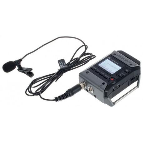 Mikrofoni - Zoom F1 field recorder + lavalier mic F1-LP - perc veikalā un ar piegādi