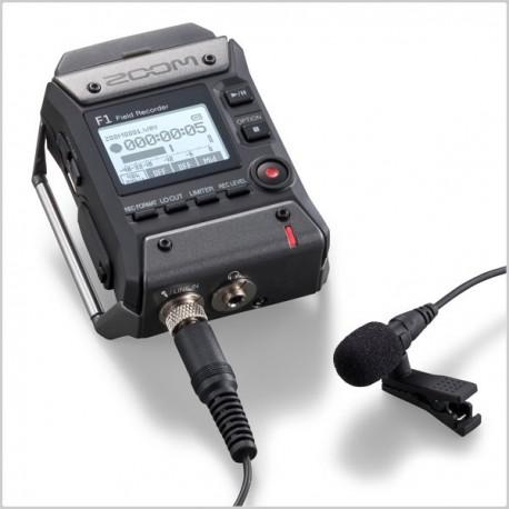 Mikrofoni - Zoom F1 field recorder + lavalier mic F1-LP - perc šodien veikalā un ar piegādi