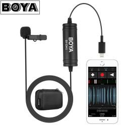 Mikrofoni - Boya Lavalier Microphone BY-DM1 for iOS - купить сегодня в магазине и с доставкой