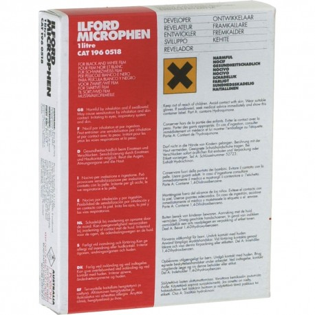 For Darkroom - ILFORD PHOTO ILFORD DEVELOPER MICROPHEN 1L - quick order from manufacturer