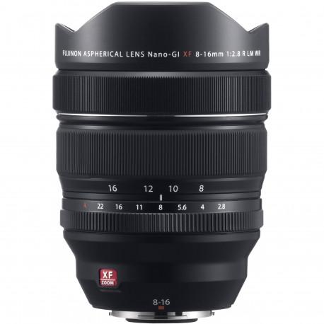 Objektīvi - Fujifilm Fujinon XF 8-16mm f/2.8 R LM WR objektīvs - ātri pasūtīt no ražotāja