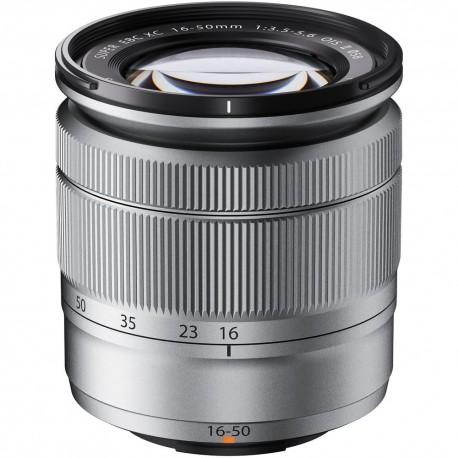 Objektīvi - Fujifilm XC 16-50mm f/3.5-5.6 OIS II Lens Silver - ātri pasūtīt no ražotāja