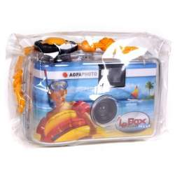 Filmu kameras - AgfaPHOTO Le Box Ocean waterproof single-use Camera - perc šodien veikalā un ar piegādi