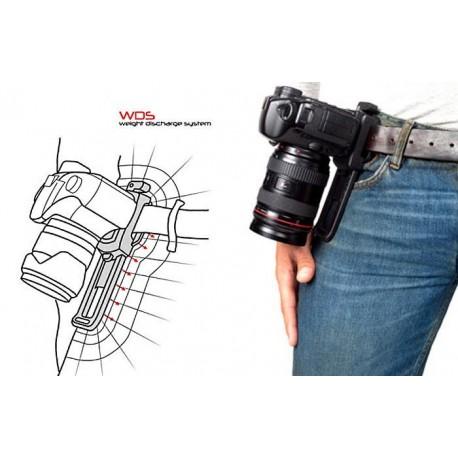 Siksniņas un turētāji - B-Grip BG-1000 The Camera Belt Grip kameras turetājs pie jostas - perc šodien veikalā un ar piegādi