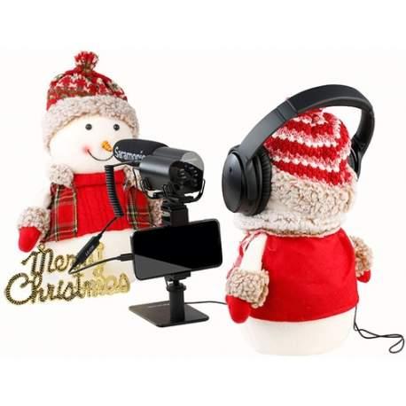 Mikrofonu aksesuāri - Saramonic LC-C35 audio cable - mini Jack 3.5 mm TRS / Lightning - perc šodien veikalā un ar piegādi