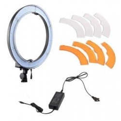 """Ring"" Continious Light - Bresser BR-RL18 LED 45cm Ring lamp 55W/5760 Lumen - buy today in store and with delivery"