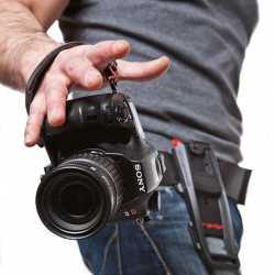 Siksniņas un turētāji - B-Grip HS plaukstas stiprinājuma siksna kamerai BG-1003 - perc šodien veikalā un ar piegādi