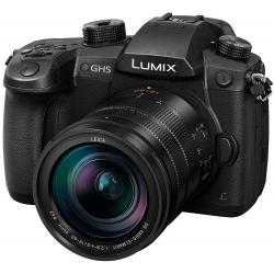 Video kameras - Panasonic LUMIX G DC-GH5LEG-K with Leica H-ES12060 Lens - ātri pasūtīt no ražotāja