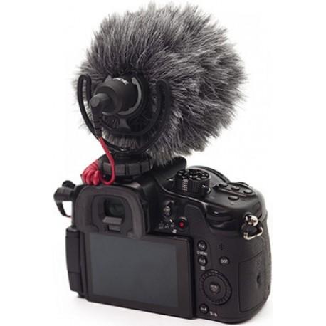 Mikrofoni - Rode VideoMicro Compact Cardioid Light-weight On-Camera Microphone with rycote lyre - perc šodien veikalā un ar piegādi