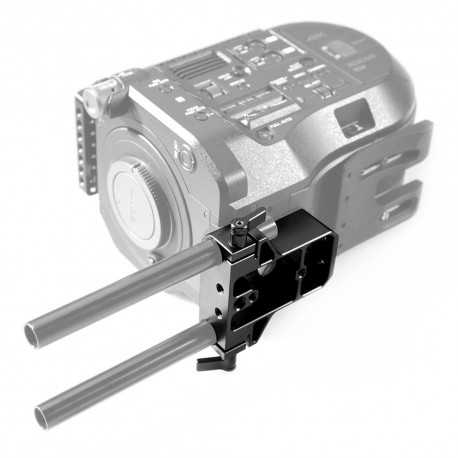 Rigu aksesuāri - SmallRig Baseplate with Dual 15mm Rod Clamp 1674 - ātri pasūtīt no ražotāja