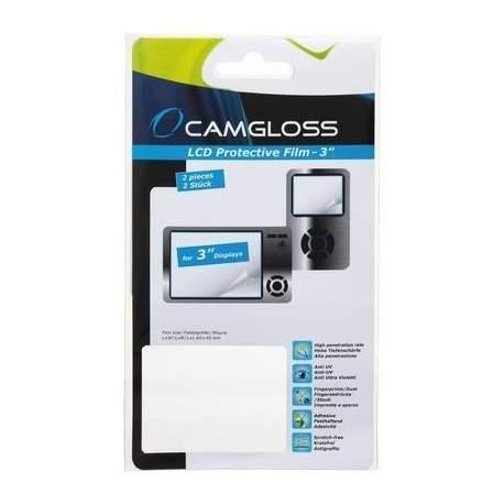"""Foto kameras tīrīšana - Camgloss aizsargplēve 3"""" 3gb. (C8021038) - ātri pasūtīt no ražotāja"""