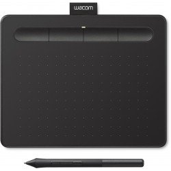 Tablets and Accessories - Wacom graphics tablet Intuos S, black - buy today in store and with delivery