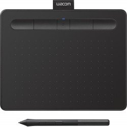 Tablets and Accessories - Wacom graphics tablet Intuos S Bluetooth, black - quick order from manufacturer