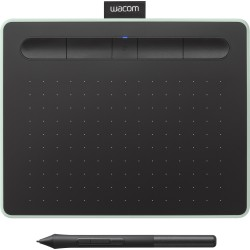 Grafiskās planšetes - Wacom grafskā planšete Intuos S Bluetooth, pistāciju zaļa - ātri pasūtīt no ražotāja