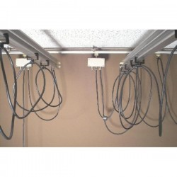 Ceiling Rail Systems - Linkstar Cable Runner for Ceiling Rail System - quick order from manufacturer