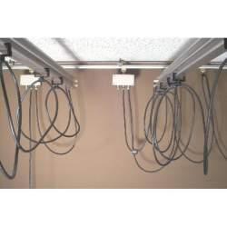 Sliežu stiprināšanas sistēmas - Linkstar Cable Runner for Ceiling Rail System - perc veikalā un ar piegādi