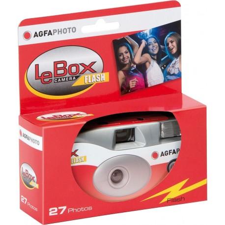 Filmu kameras - Agfaphoto Agfa LeBox 400 27 Flash - купить сегодня в магазине и с доставкой