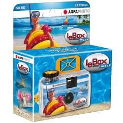 Filmu kameras - Agfaphoto Agfa vienreizlietojamā kamera LeBox Ocean 400/27 - perc veikalā un ar piegādi