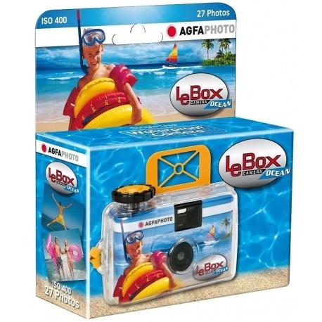 Filmu kameras - Agfaphoto Agfa vienreizlietojamā kamera LeBox Ocean 400/27 - perc šodien veikalā un ar piegādi