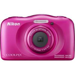 Compact cameras - Nikon Coolpix W100, pink - quick order from manufacturer