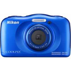 Compact cameras - Nikon Coolpix W100, blue - quick order from manufacturer
