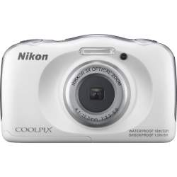 Compact cameras - Nikon Coolpix W100, white - quick order from manufacturer
