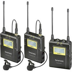 Microphones - Saramonic Lavalier Microphone Set UwMic9 TX9 + TX9 + RX9 UHF Wireless - buy today in store and with delivery