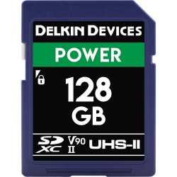 Atmiņas kartes - DELKIN SD POWER 2000X UHS-II U3 (V90) R300/W250 128GB - quick order from manufacturer