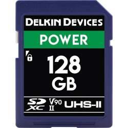 Atmiņas kartes - DELKIN SD POWER UHS-II/V90 2000X R300/W250 128GB - ātri pasūtīt no ražotāja