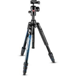 Photo tripods - Manfrotto tripod kit Befree Advanced MKBFRTA4BL-BH, blue - quick order from manufacturer