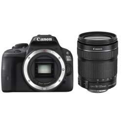 Spoguļkameras - Canon EOS 2000D + 18-135mm IS Kit, black 2728C016 - купить сегодня в магазине и с доставкой