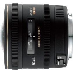 Objektīvi - Sigma 4.5mm f/2.8 EX DC Circular Fisheye objektīvs priekš Nikon - ātri pasūtīt no ražotāja