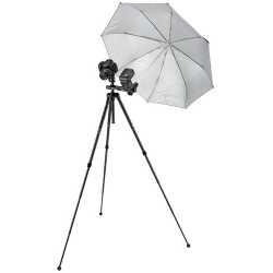 Foto lietussargi - Velbon lietussargs ar skavu UC-6, sudrabots - ātri pasūtīt no ražotāja