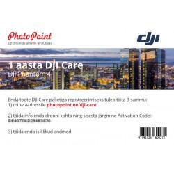 Multikopteru aksesuāri - DJI Care Phantom 4 1 год - быстрый заказ от производителя