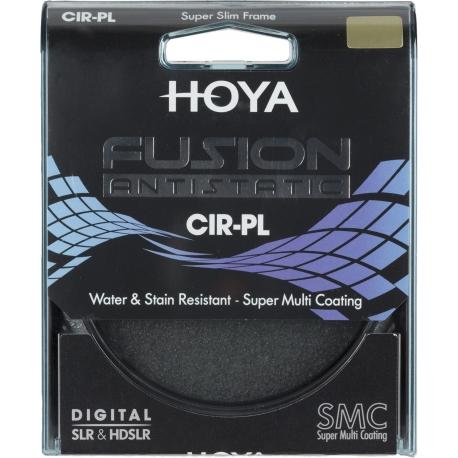 Objektīvu filtri - Hoya Filters Hoya cirkulārais polarizācijas filtrs Fusion Antistatic 82mm - perc veikalā un ar piegādi