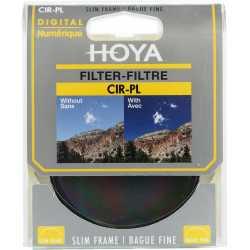 Objektīvu filtri - Hoya Filters Hoya cirkulārais polarizācijas filtrs Slim 58mm - perc šodien veikalā un ar piegādi