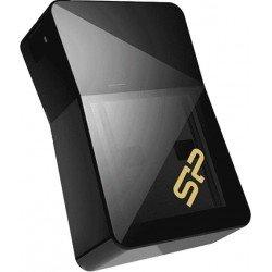 USB флшеки - Silicon Power флэшка 16GB Jewel J08 USB 3.0, черная - быстрый заказ от производителя