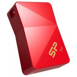 Zibatmiņas - Silicon Power zibatmiņa 64GB Jewel J08 USB 3.0, sarkana - ātri pasūtīt no ražotāja