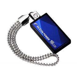 Zibatmiņas - Silicon Power zibatmiņa 16GB USB 2.0 Touch 810, zila - ātri pasūtīt no ražotāja