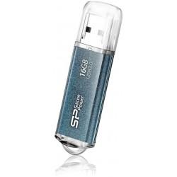 Zibatmiņas - Silicon Power flash drive 16GB Marvel M01 USB 3.0, blue - quick order from manufacturer