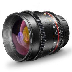 Lenses - walimex pro 85/1,5 Video DSLR Canon EF black - quick order from manufacturer