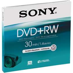 Memory cards - Sony DVD+RW 1.4GB 30min mini - quick order from manufacturer