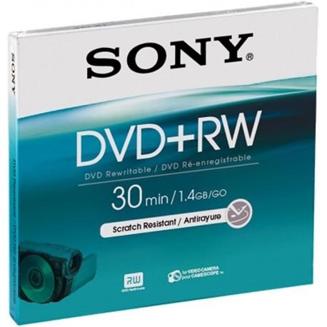 Atmiņas kartes - Sony DVD+RW 1.4GB 30min mini - ātri pasūtīt no ražotāja