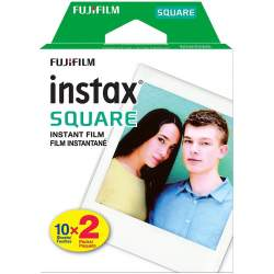Instantkameru filmiņas - Fujifilm Instax Square 2x10 16576520 - купить сегодня в магазине и с доставкой
