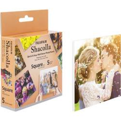 Фото подарки - Fujifilm Instax Square Shacolla Box 5 шт - быстрый заказ от производителя