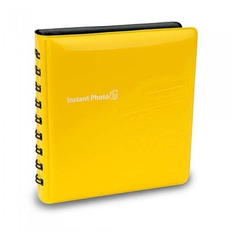 Photography Gift - Fujifilm Instax album Mini, yellow - quick order from manufacturer